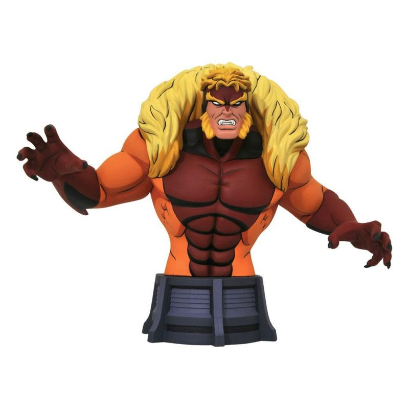 Marvel X-Men: Sabretooth 15 cm Animated Series Bust - Diamond Select