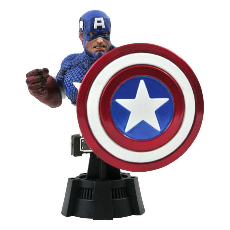 Marvel Comics: Captain America 15 cm Bust - Diamond Select