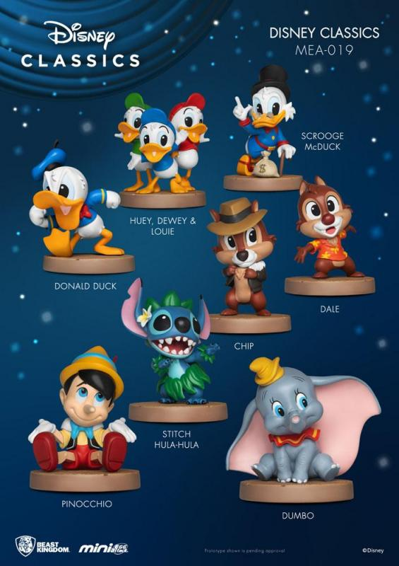Disney Classic Series Mini Egg Attack Figures 8 cm Display (8)