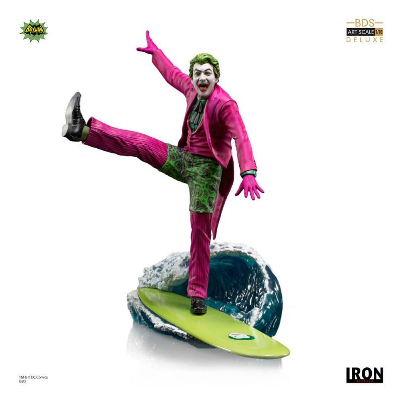 Batman 1966 Deluxe BDS Art Scale Statue 1/10 The Joker 23 cm