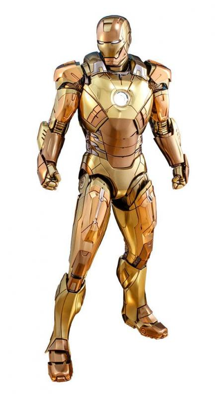 Iron Man 3 Movie Masterpiece Action Figure 1/6 Iron Man Mark XXI Midas Hot Toys Exclusive