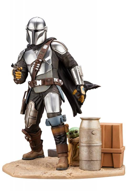 Star Wars The Mandalorian: Mandalorian & The Child - ARTFX Statue 1/7 - Kotobukiya