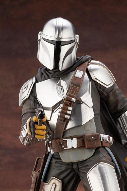 Star Wars The Mandalorian ARTFX Statue 1/7 Mandalorian & The Child 26 cm