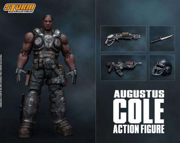 Gears of War 5: Augustus Cole - Action Figure 1/12 - Storm Collectibles