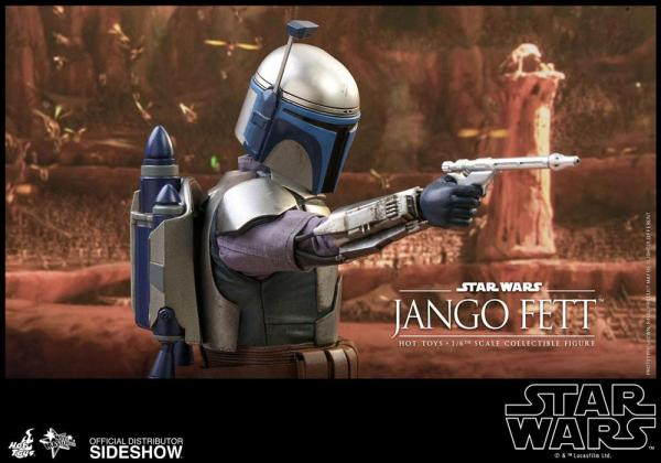 Star Wars Episode II Movie Masterpiece Action Figure 1/6 Jango Fett 30 cm