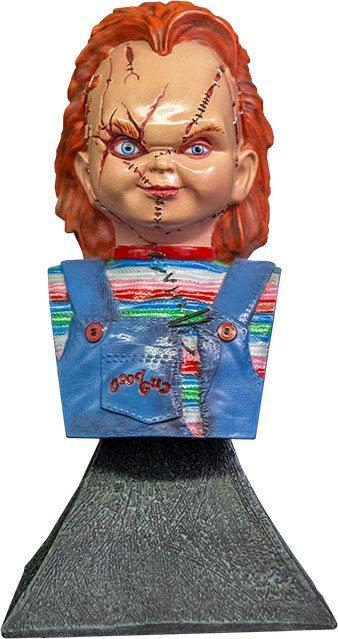Bride of Chucky: Chucky - Mini Bust 15 cm - Trick Or Treat Studios