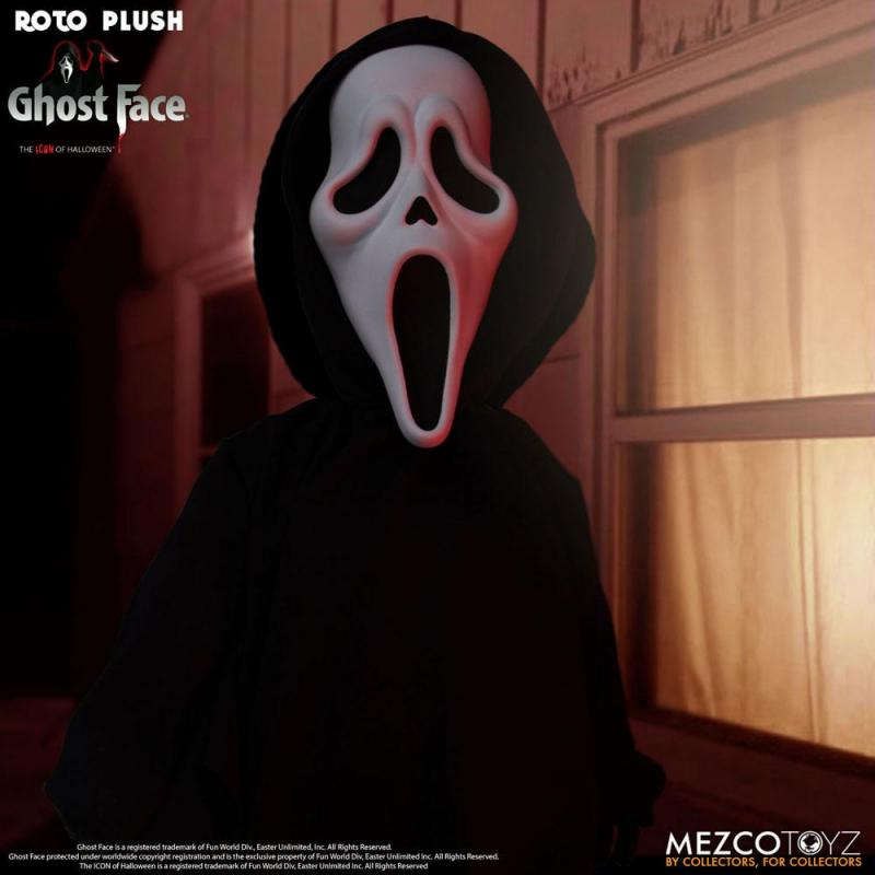 Scream MDS Roto Plush Doll Ghost Face 46 cm - Mezco