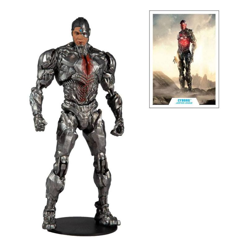 DC Justice League: Cyborg 18 cm Movie Action Figure - McFarlane Toys