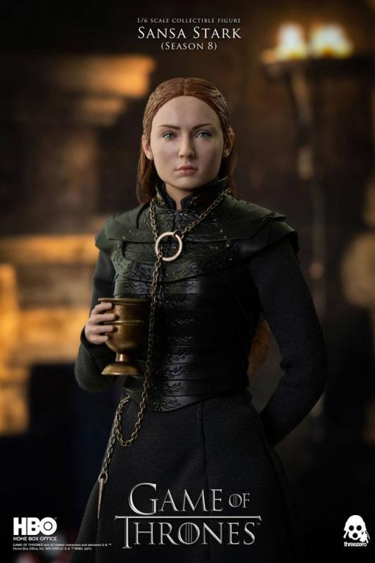 Game of Thrones: Sansa Stark (Season 8) 1/6 Action Figure - ThreeZero