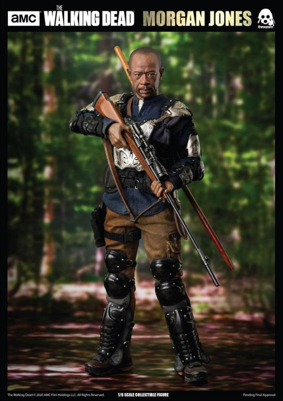 The Walking Dead: Morgan Jones - Action Figure 1/6 - ThreeZero