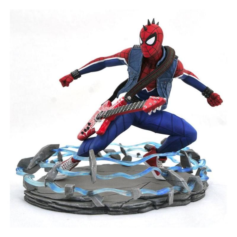 Spider-Man 2018 Marvel Video Game Gallery PVC Statue Spider-Punk 18 cm