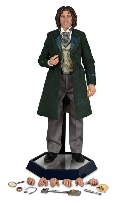 Doctor Who: 8th Doctor (Paul McGann) 1/6 Action Figure - Big Chief Studios