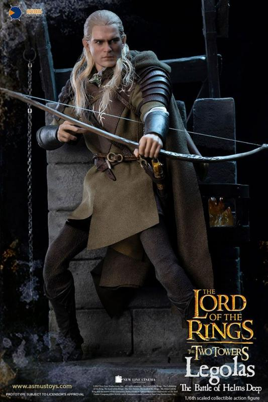 Lord of the Rings The Two Towers: Legolas at Helm's Deep 1/6 Action Figure - Asmus Toys