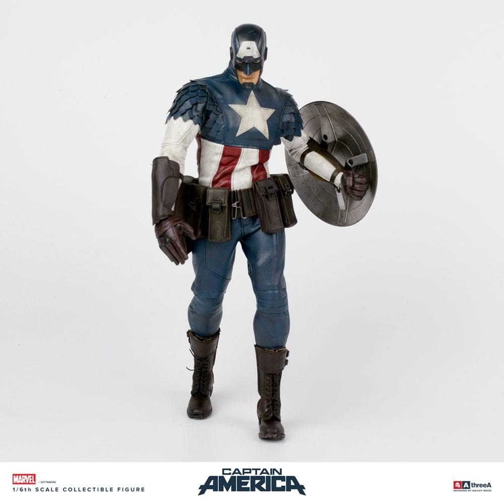 Marvel x ThreeA Action Figure 1/6 Captain America