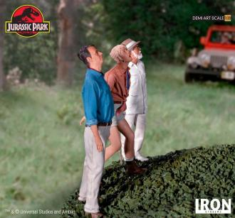 Jurassic Park Demi Art Scale Statue 1/20 Welcome to Jurassic Park 80 cm