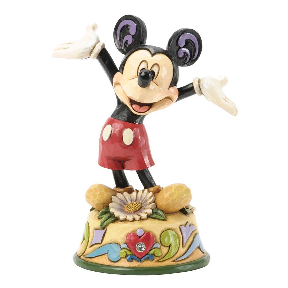 Disney Traditions April Mickey Mouse 10 cm
