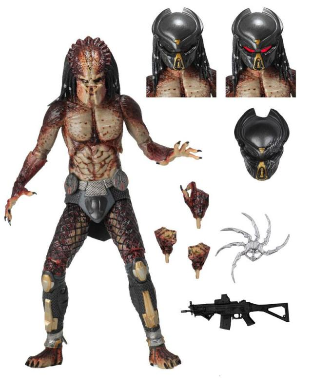 Predator 2018 Action Figure Ultimate Fugitive Predator (Lab Escape) 20 cm