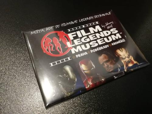 FILM LEGENDS MUSEUM STANDART MAGNET C