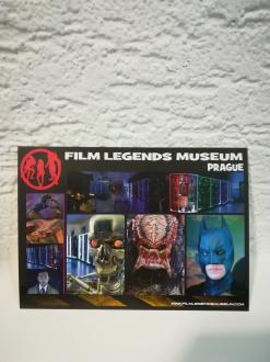 Collectible Film Legends Museum Postcard PRG A