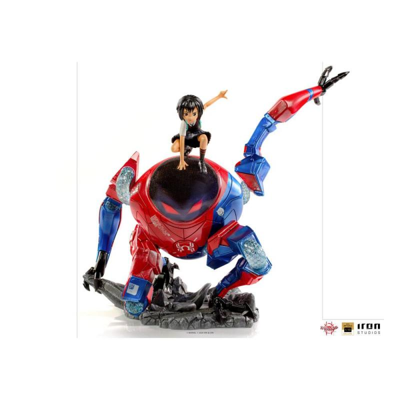 Spider-Man: Into the Spider-Verse BDS Art Scale Deluxe Statue 1/10 Peni Parker & SP 25 cm