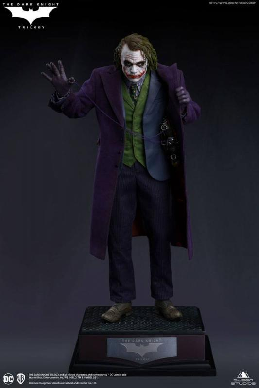 The Dark Knight Statue 1/4 Heath Ledger Joker Regular Edition 52 cm