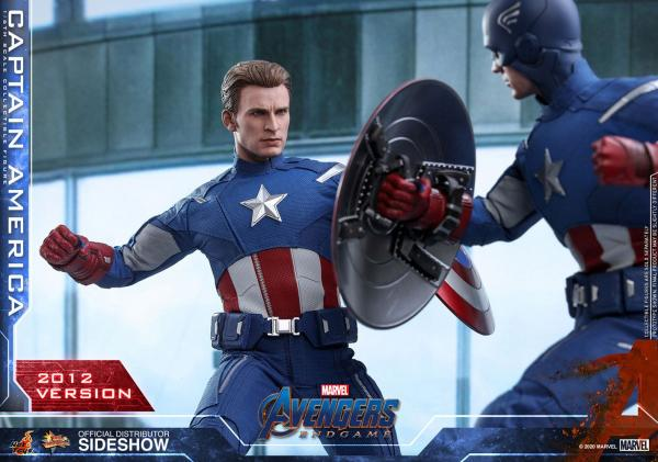 Avengers: Endgame Movie Masterpiece Action Figure 1/6 Captain America (2012 Version) 30 cm