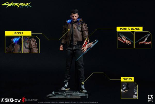 Cyberpunk 2077:  Male V - Figure 30 cm - Pure Arts