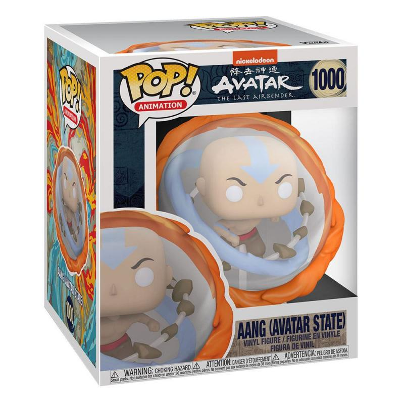 Avatar The Last Airbender: Aang All Elements 15 cm POP! Marvel Vinyl Figure - Funko