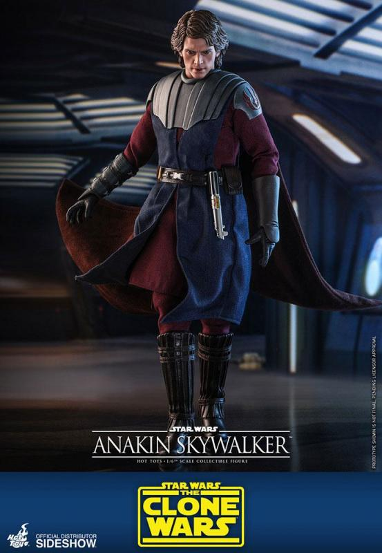 Star Wars The Clone Wars: Anakin Skywalker - Figure 1/6 - Hot Toys