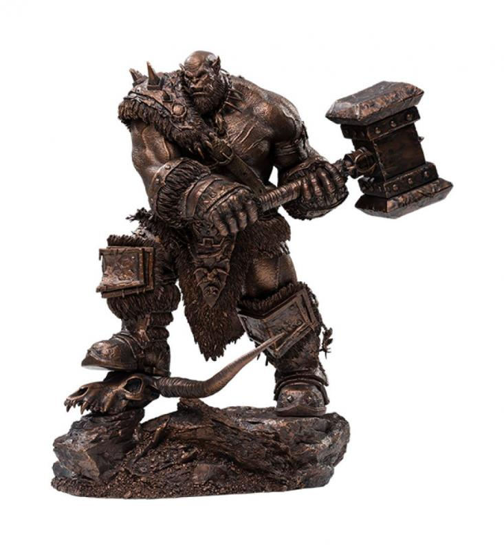 Warcraft: The Beginning Statue 1/9 Orgrim Imitation Bronze Version 27 cm