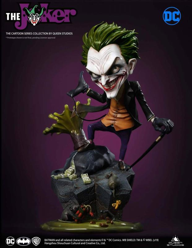 DC Cartoon Series Statue 1/3 The Joker 25 cm