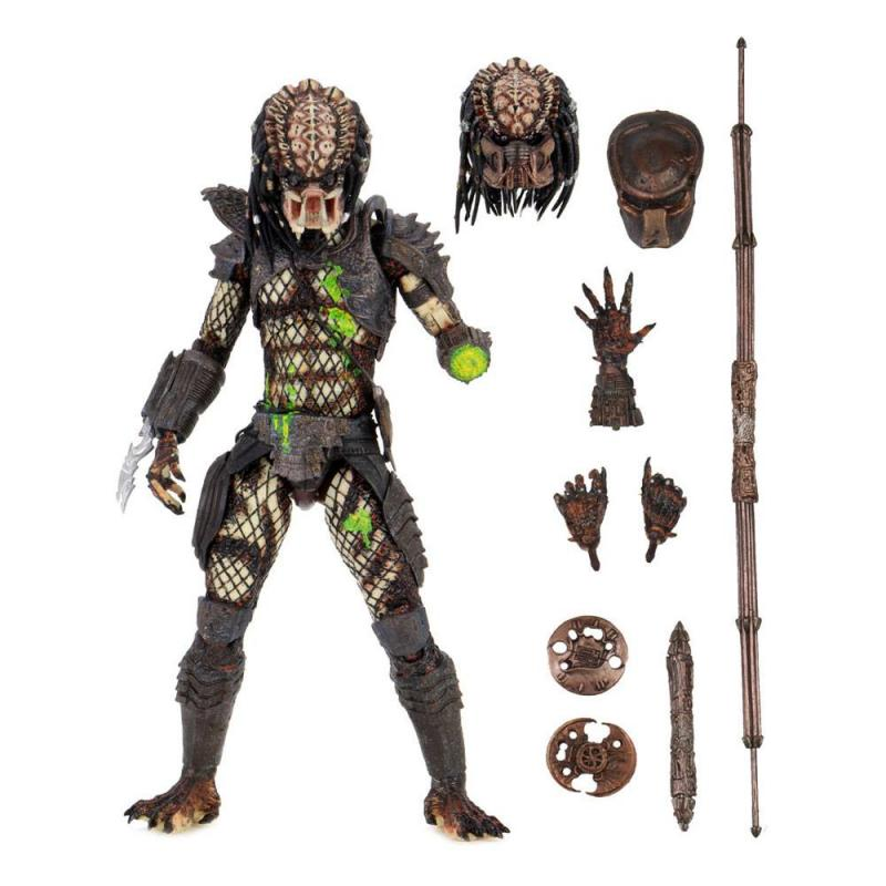 Predator 2 Actionfigur Ultimate Battle-Damaged City Hunter 20 cm