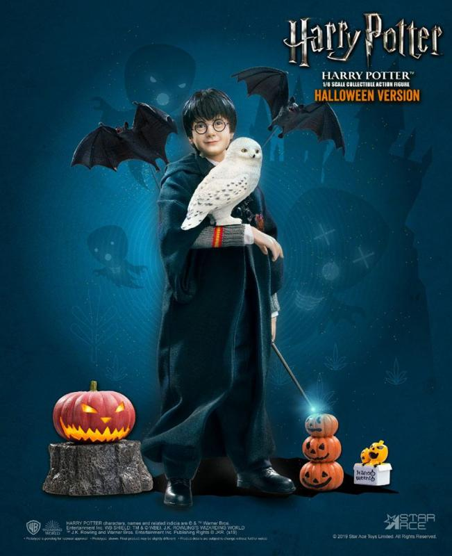 Harry Potter My Favourite Movie Action Figure 1/6 Harry Potter (Child) Halloween Limited E