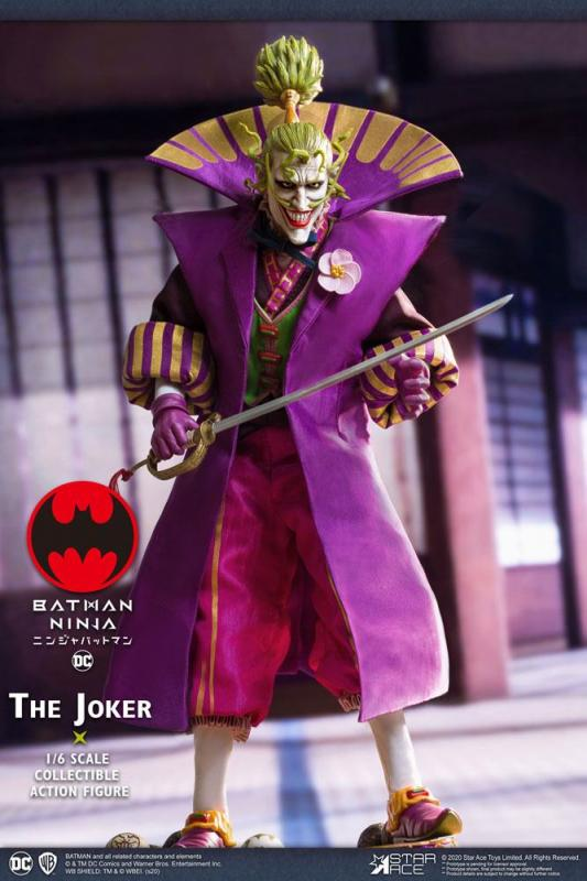 Batman Ninja My Favourite Movie Action Figure 1/6 Joker Special Ver. 30 cm