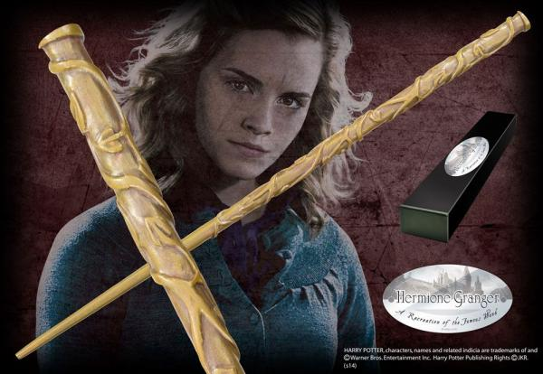 Harry Potter Wand Hermione Granger (Character-Edition) - Noble Collection