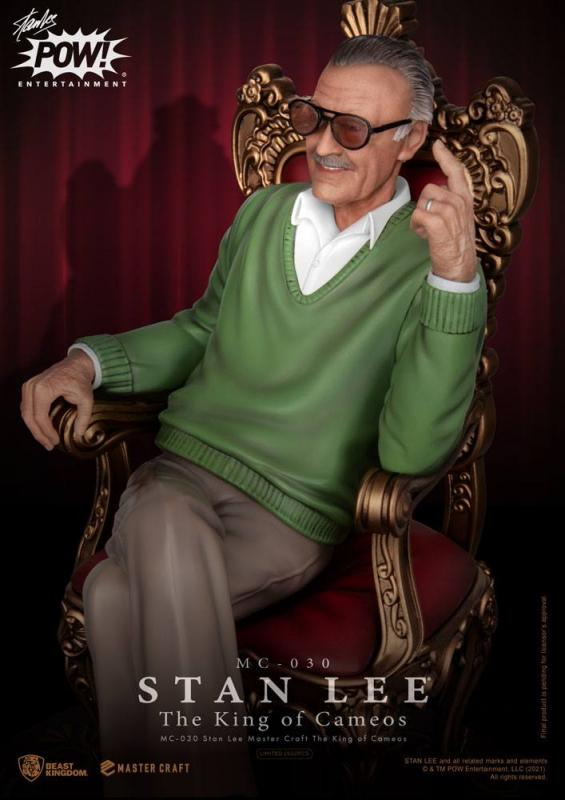Stan Lee: The King of Cameos 33 cm Master Craft Statue - Beast Kingdom Toys