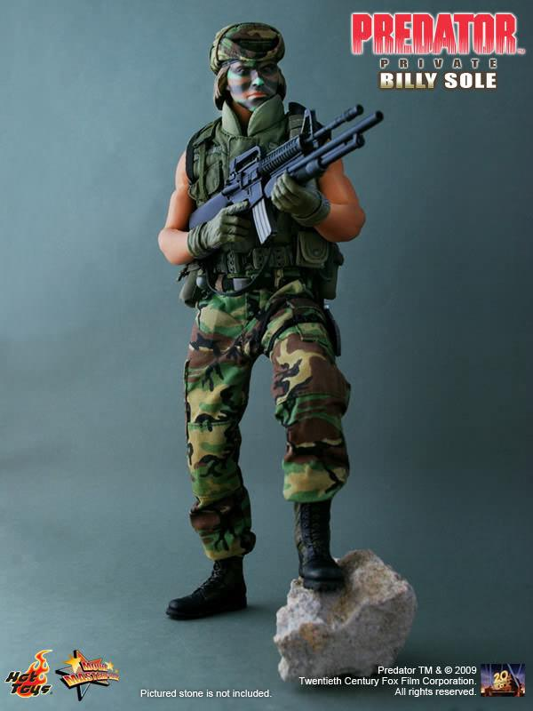 Predator: The Private Billy Sole - Figure 1/6 - Hot Toys