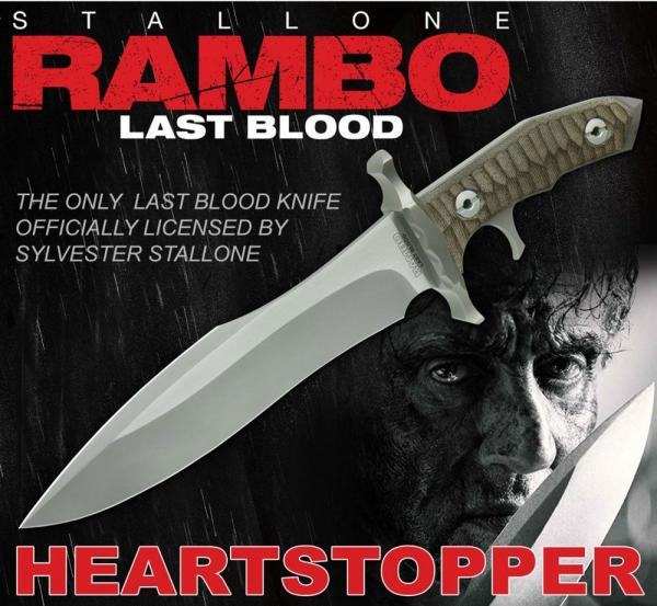 Rambo: Last Blood Replica 1/1 Heartstopper Messer 38 cm