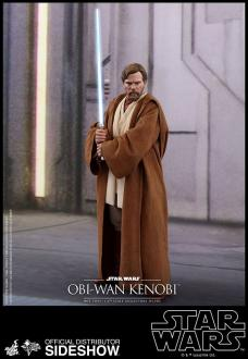 Star Wars Episode III Movie Masterpiece Action Figure 1/6 Obi-Wan Kenobi 30 cm