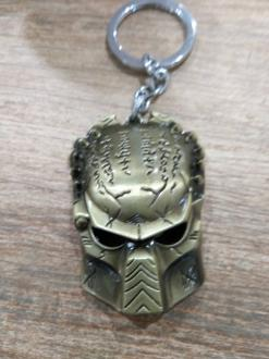 Key Ring -  Wolf Predator gold