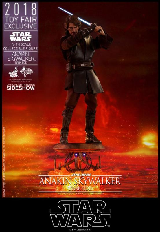 Star Wars Episode III MMS Action Figure 1/6 Anakin Skywalker Dark Side