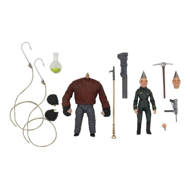 Puppet Master Ultimate Action Figure 2-Pack Pinhead & Tunneler 11 cm