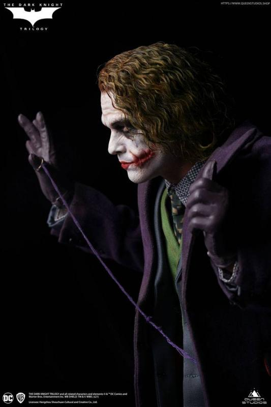 The Dark Knight: Heath Ledger Joker Artists Edition - Statue 1/4 - Queen Studios
