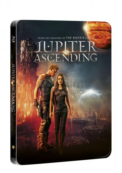Jupiter Ascending Steelbook Blu-ray