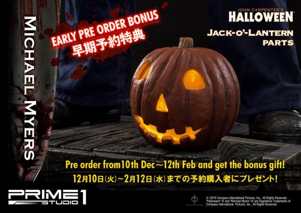 Halloween Statue 1/2 Michael Myers Bonus Version 107 cm