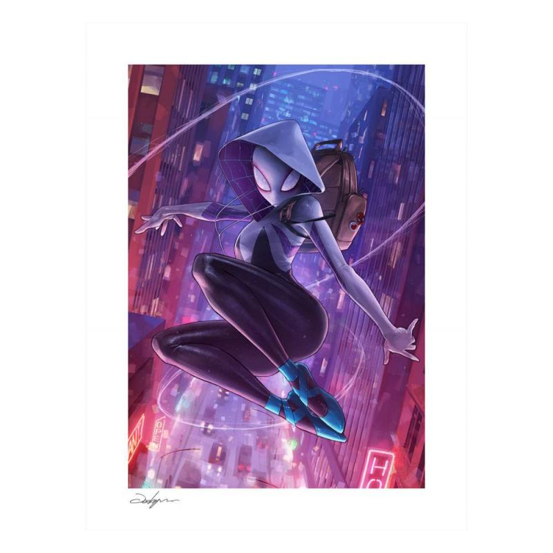 Marvel Comics: Spider-Gwen 46 x 56 cm Art Print - Sideshow Collectibles