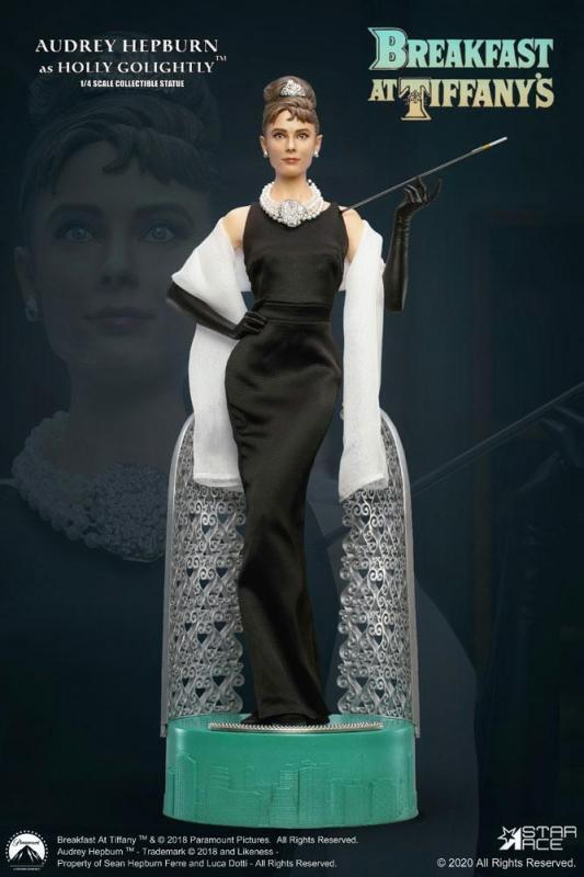 Breakfast at Tiffany's Statue 1/4 Holly Golightly (Audrey Hepburn) 52 cm