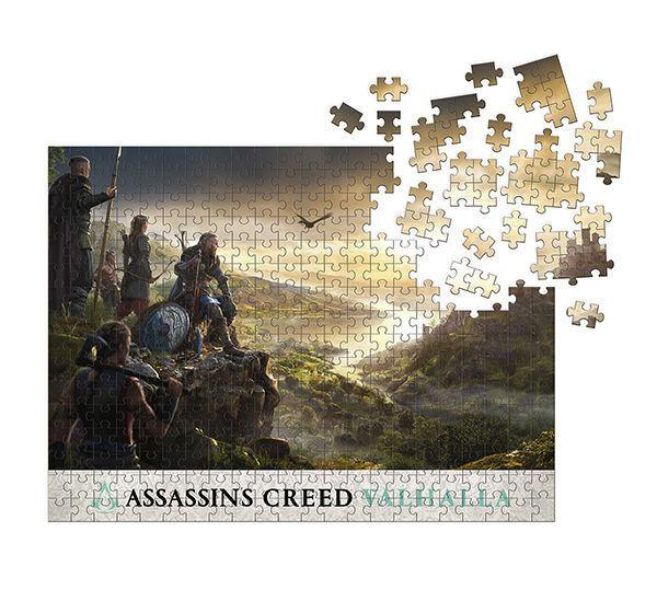 Assassin's Creed Valhalla Jigsaw Puzzle Raid Planning (1000 pieces) - Dark Horse