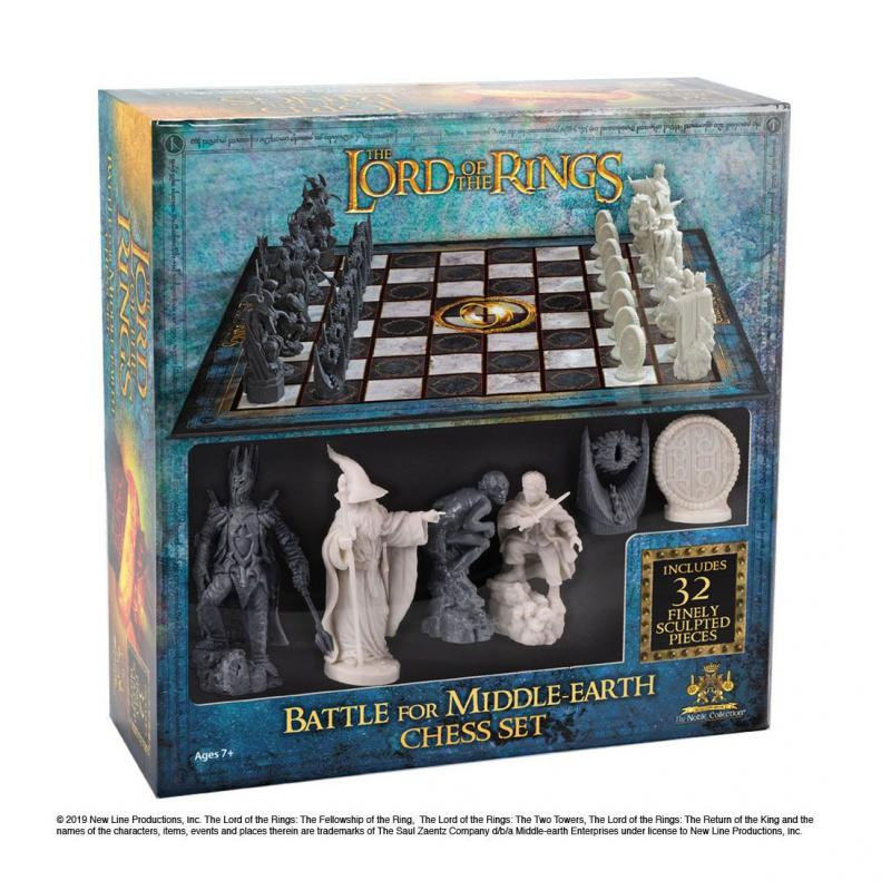 Lord of the Rings: Chess Set Battle for Middle Earth - Noble Collection