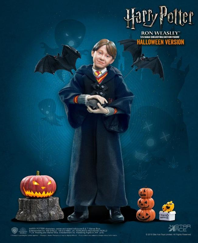 Harry Potter My Favourite Movie Action Figure 1/6 Ron Weasley Halloween Limited Edition
